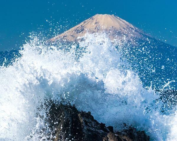 映画『HOKUSAI』× 東京カメラ部 「冨嶽三十六景フォトコンテスト」佳作(作品タイトル:「Splash!!」 kidskatsuyaさん)