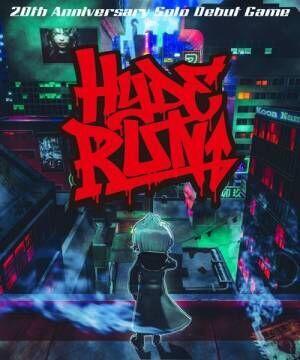 スマートフォン向けゲーム『HYDE RUN』 (C)VAMPROSE (C)Phoenixx Developped by Grounding Inc