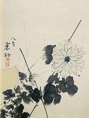 《菊図》大正4年(1915)年個人蔵 (C)Hiroshi Niiyama 2021