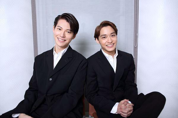 山崎大輝(左) 松岡広大(右) 撮影:杉映貴子