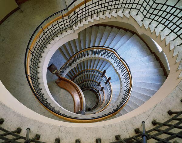≪ポホヨラ保険会社ビルディングの中央らせん階段≫ Photo (C)Museum of Finnish Architecture/ Karina Kurz, 2008