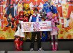 劇場版『機界戦隊ゼンカイジャー』封切り、駒木根葵汰がファンと対面し感激!