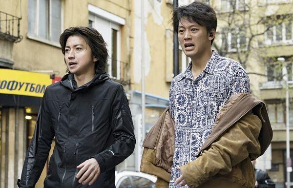 『太陽は動かない』 (c)吉田修一/幻冬舎 (c)2020「太陽は動かない」製作委員会