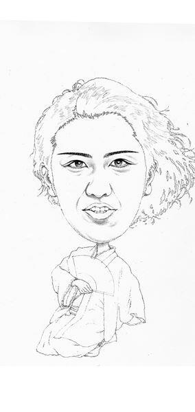 【尾上松也】ぴあ及川正通イラストの制作過程をレポート