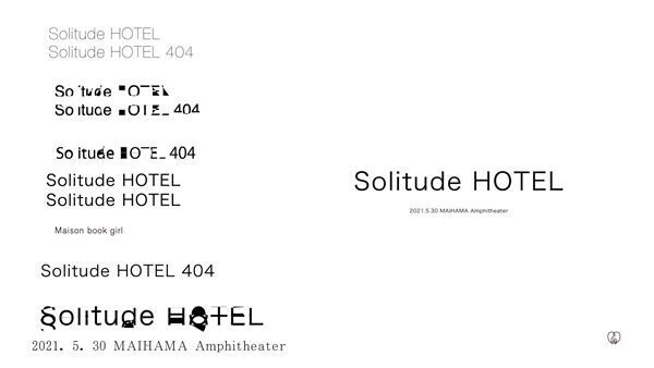 Maison book girl「Solitude HOTEL」