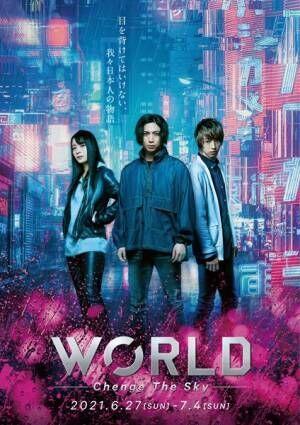 舞台『WORLD』ビジュアル