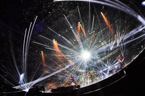 LUNA SEA、13ヵ月ぶりステージで魅せた覚悟と希望 『RELOAD』さいたまスーパーアリーナ公演レポート