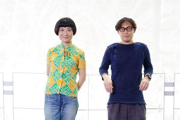 左から片桐はいり岡田利規 撮影:源賀津己