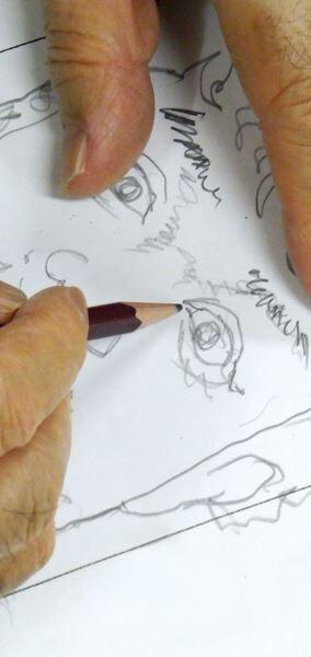【ムロツヨシ】ぴあ及川正通イラストの制作過程をレポート