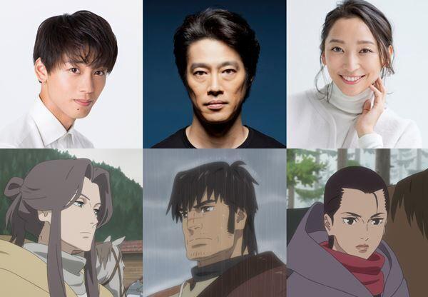 『鹿の王 ユナと約束の旅』声優キャスト (C)2021「鹿の王」製作委員会