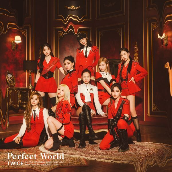 『Perfect World』通常盤ジャケット