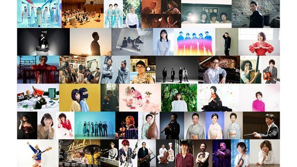 『日比谷音楽祭2021』出演アーティスト