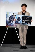 森崎ウィンがノーラン監督に「私はいつでも準備ができています」とアピール 『TENET テネット』PRイベント開催