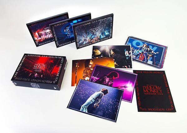 THE YELLOW MONKEY、ドームツアー映像作品Blu-ray BOXとDVD BOXの商品画像を公開