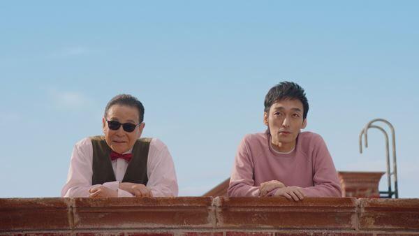 タモリ×草彅剛、メルカリCMで共演 4月9日より全国放送