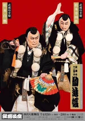 歌舞伎座4月公演「四月大歌舞伎」第一部『勧進帳』