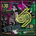 NAMBA69、新潟LOTSと新木場STUDIO COASTで主催ライブを開催