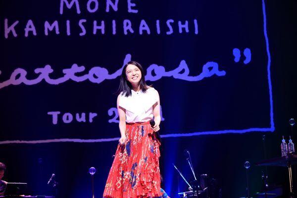 上白石萌音(『上白石萌音『yattokosa』Tour2021』7月21日東京・ガーデンシアターより)