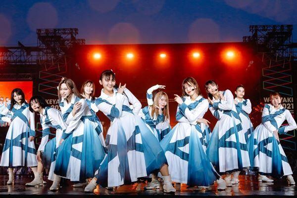 野外ライブ『W-KEYAKI FES.2021』より (写真:上山陽介)