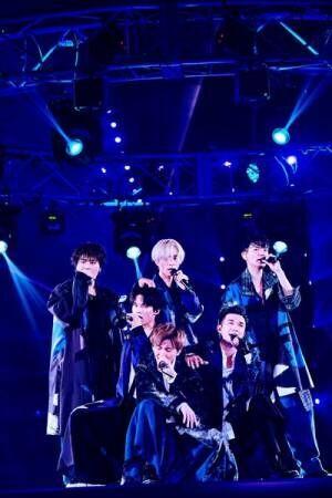 SixTONES(ライブツアー『on eST』6月7日横浜アリーナ公演より)