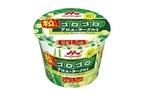 アロエ葉肉たっぷりと配合でみずみずしい素肌に「森永粒ゴロゴロアロエ&ヨーグルト」発売