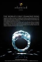 世界初の総ダイヤでできたリング!お値段58億円!