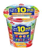 """森永乳業から、健康を守ってくれる""""10種類のフレッシュなフルーツ""""で作った、おいしいヨーグルト発売!"""