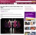 エキサイティングなロンドン・ファッションウィークがスタート!