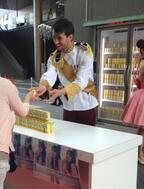 2人の王子が登場!「食べる前のうるる酢」イベントが開催