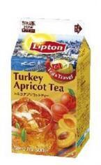 森永乳業から、トルコの健康に良い「アプリコット」を利用した、おいしい紅茶を発売!