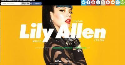 リリー・アレンの新曲、着想は美容整形外科での体験から!
