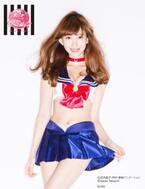 『美少女戦士セーラームーン』×PEACH JOHN=小嶋陽菜