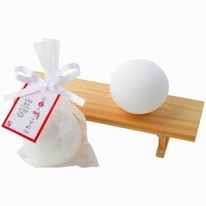 お風呂で日頃の疲れをお浄めしよう!バスボム「お浄め塩玉」が発売