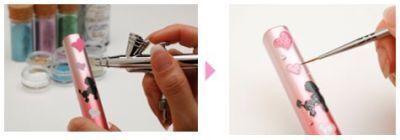 パナソニック:「大人可愛い」デコ歯ブラシ