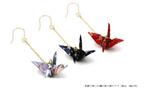 想定の20倍を販売!和紙を使った「折り鶴ピアス」が海外で人気!