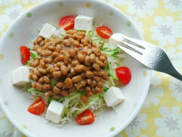 ダイエットや食生活の改善に!サラダ専用納豆がミツカンから発売