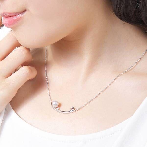 本格真珠メーカーとハローキティのコラボジュエリーが発売
