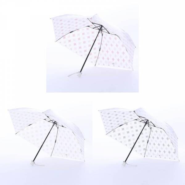 「かわいい」だけじゃない!いいことづくしの白い日傘に新柄登場!