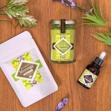 90種類以上の栄養素が含まれる奇跡の木「モリンガ」商品