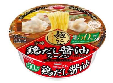 糖質50%オフ!エースコックの低糖質カップ麺がリニューアル