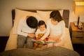 共働きパパママが悩む「子どもの寝つき」、入眠環境に適した読み聞かせ照明があるとベスト