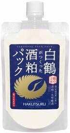 酒粕の力でしっとりツルツルの肌に!「白鶴がつくった酒粕パック」発売