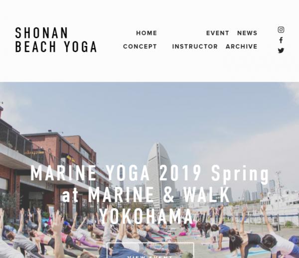 潮風を感じながらヨガでリラックス! 「MARINE YOGA 2019 Spring」開催