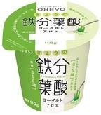 オハヨー乳業からきょうの鉄分葉酸ヨーグルト アロエ発売!