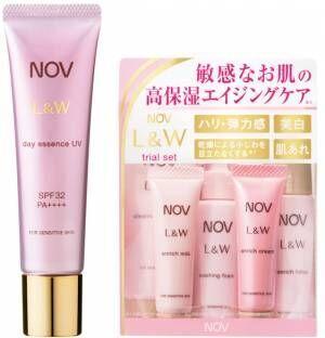 敏感肌を紫外線から守る高保湿の日中用美容液