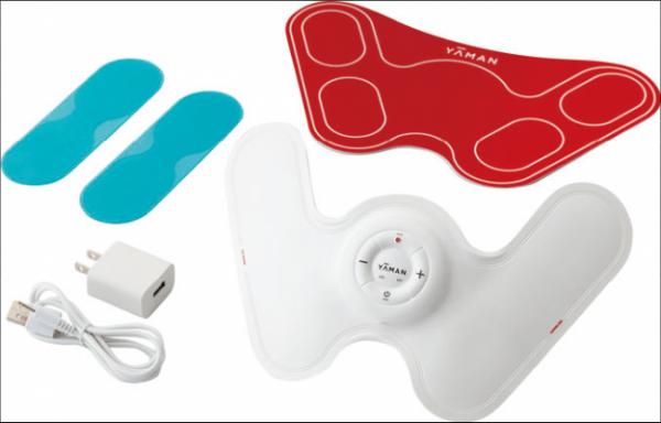 ヒーター搭載EMSで効率良く身体を鍛える!「ダブルヒートEMS」新発売