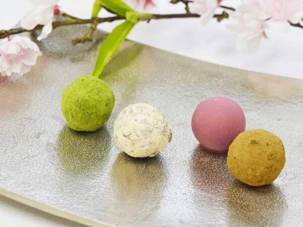 春の限定フレーバー「桜×ルビーチョコレート」のトリュフを発売