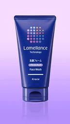 ラメラ構造を守るもっちり濃密な泡で肌に透明感が生まれる