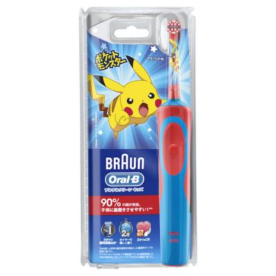 磨くたびに新しいポケモンに会える!ブラウン オーラルBから子供用電動歯ブラシ「すみずみクリーンキッズ」登場