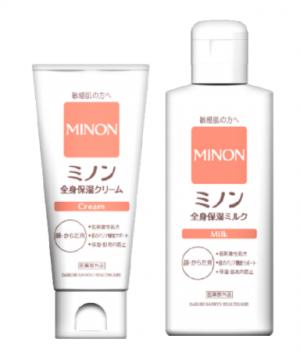 敏感肌向けブランド「ミノン」で全身保湿ケア
